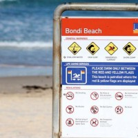 Bondi Beach Sign