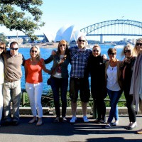 Group at Sydney Harbour