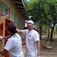 CSR - Helping to build bookshelves at a local School