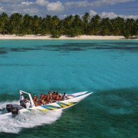 Saona Island Jet Speed Boat - © Dominican Republic Ministry or Tourism