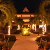 Royal St Lucian Hotel at Night