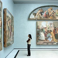 Interior of the National Gallery - visitBerlin - Photo: Pierre Adenis