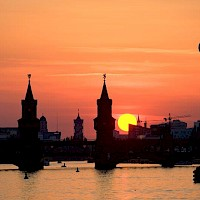 River Spree at Sunset - visitBerlin - Photo: Wolfgang Scholvien