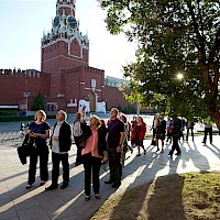 Group at Red Square