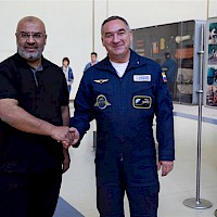 Meeting with a Cosmonaut
